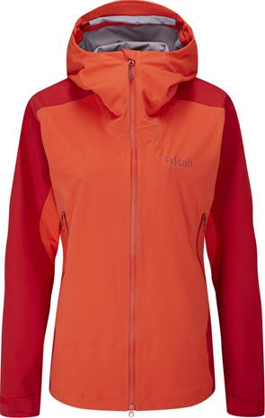 Rab Kinetic Alpine 2.0 Jacket Women, punainen