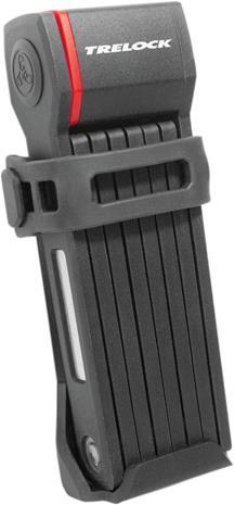 Trelock FS 280 TWO.GO Folding Lock, musta