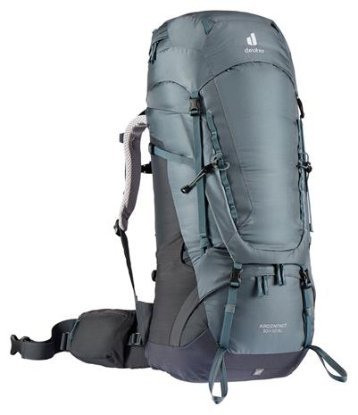deuter Aircontact 50 + 10 SL Backpack Women, harmaa