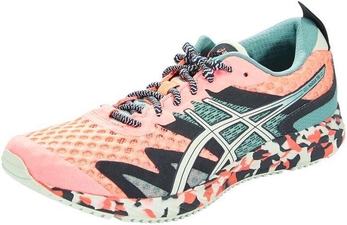 asics Gel-Noosa Tri 12 Shoes Women, vaaleanpunainen/turkoosi