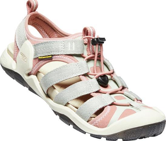 Keen Clearwater II CNX Sandals Women, harmaa/vaaleanpunainen