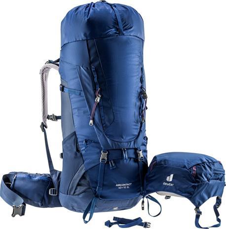 deuter Aircontact 40 + 10 SL Backpack Women, sininen