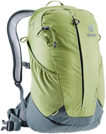 deuter AC Lite 15 SL Backpack, harmaa/vihreä