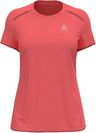 Odlo Fli Chill-Tec T-Shirt S/S Crew Neck Women, vaaleanpunainen