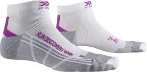 X-Socks Run Discovery Sukat Naiset, harmaa/valkoinen