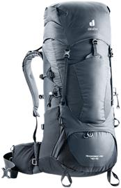 deuter Aircontact Lite 40 + 10 Backpack, harmaa/musta