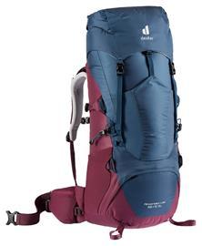 deuter Aircontact Lite 35 + 10 SL Backpack Women, punainen/sininen