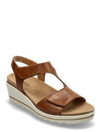 Gabor Ankle-Stap Sandal Korolliset Sandaalit Ruskea Gabor BEIGE