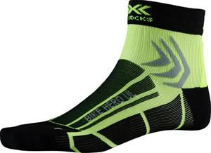 X-Socks Bike Hero UL sukat, vihreä/musta
