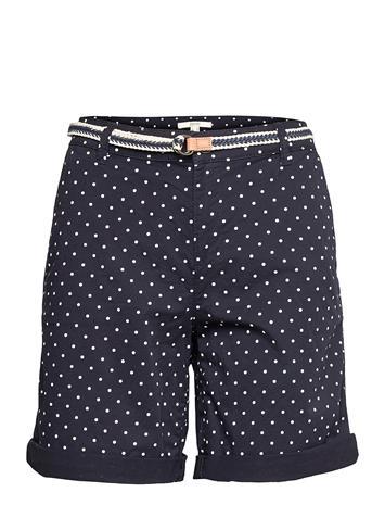 Esprit Casual Shorts Woven Shorts Flowy Shorts/Casual Shorts Sininen Esprit Casual NAVY 4