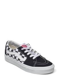 VANS Ua Sk8-Low Matalavartiset Sneakerit Tennarit Musta VANS (CANVAS/SUEDE)BLKCHCKRBRD