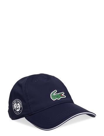 Lacoste Cap Accessories Headwear Caps Sininen Lacoste NAVY BLUE/WHITE-WHITE