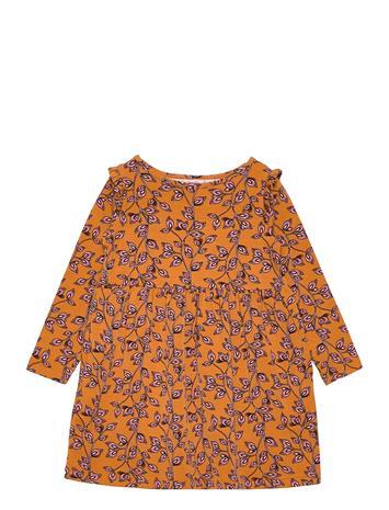 Noa Noa Miniature Dress Long Sleeve Mekko Oranssi Noa Noa Miniature PRINT MULTICOLOUR
