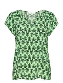 Gerry Weber Edition Blouse Short-Sleeve Blouses Short-sleeved Vihreä Gerry Weber Edition GREEN PRINT