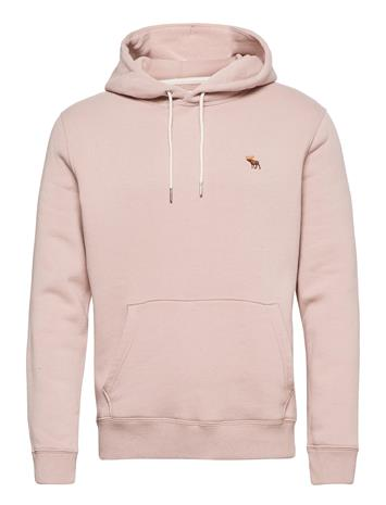 Abercrombie & Fitch Anf Mens Sweatshirts Huppari Vaaleanpunainen Abercrombie & Fitch PINK