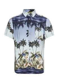 Blend Shirt Lyhythihainen Paita Sininen Blend MOONLIGHT BLUE