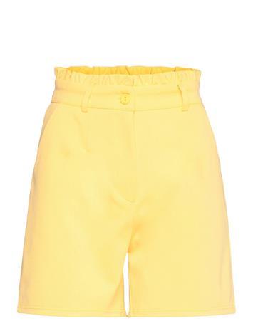 ICHI Ihkate Sho4 Shorts Paper Bag Shorts Keltainen ICHI YARROW