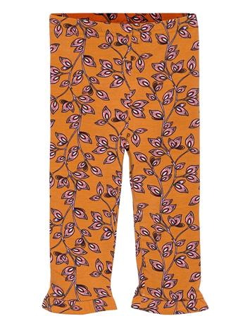 Noa Noa Miniature Leggings Housut Oranssi Noa Noa Miniature PRINT MULTICOLOUR
