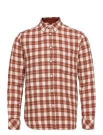 Samsä¸e Samsä¸e Liam Np Shirt 12961 Paita Rento Casual Ruskea Samsä¸e Samsä¸e BRANDY BROWN CH.
