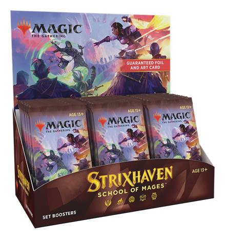 Strixhaven: School of Mages Set Booster Display (Japanese)