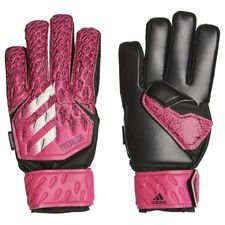 adidas Maalivahdin Hanskat Predator Match Fingersave Superspectral - Pinkki/Musta Lapset