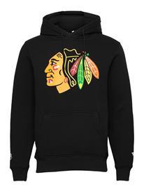 Fanatics Chicago Blackhawks Mid Essentials Primary Colour Logo Huppari Musta Fanatics BLACK