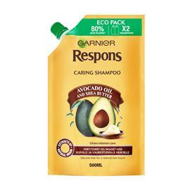 Garnier Respons Avokado Oil & Shea Butter shampoo 500 ml täyttöpussi