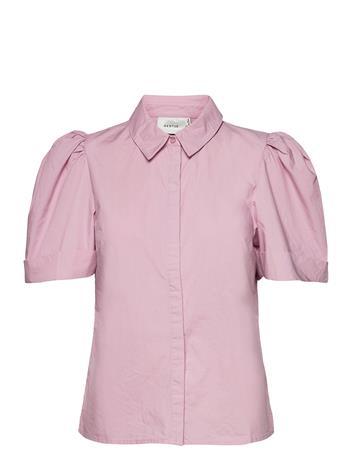 Gestuz Haliogz Ss Shirt Lyhythihainen Paita Vaaleanpunainen Gestuz FRAGRANT LILAC