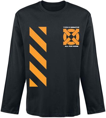 Type O Negative - Be A Man - Pitkähihainen paita - Miehet - Musta, Miesten paidat, puserot ja neuleet