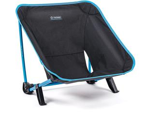 Helinox Incline Festival Chair, black/cyan blue