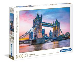 Clementoni Tower Bridge Sunset 1500p palapeli