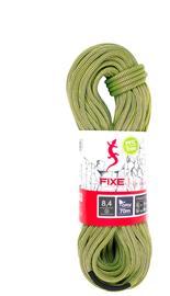 Fixe Fanatic Rope 8,4mm x 50m, keltainen/violetti