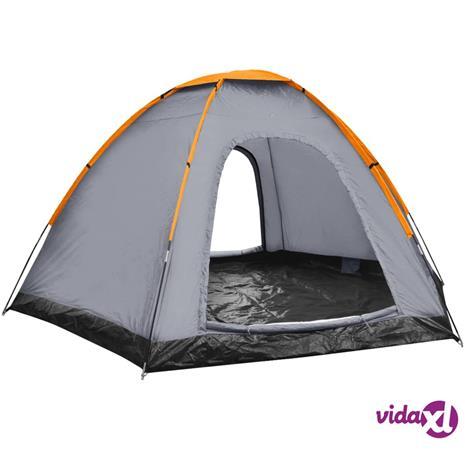 vidaXL 6-hengen teltta harmaa