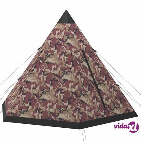 vidaXL 4-hengen teltta monivärinen