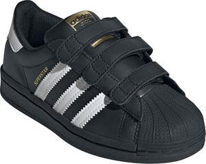 Adidas - Superstar CF C - Matalavartiset tennarit - Unisex - Musta
