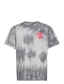Fanatics New York Yankees Tie Dye Graphic T-Shirt T-shirts Short-sleeved Harmaa Fanatics TIE DYE