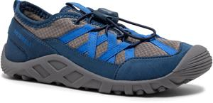 Merrell Hydro Lagoon Shoes Kids, harmaa/sininen