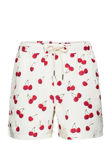 OAS Cherry Swim Shorts Uimashortsit Vaaleanpunainen OAS RED