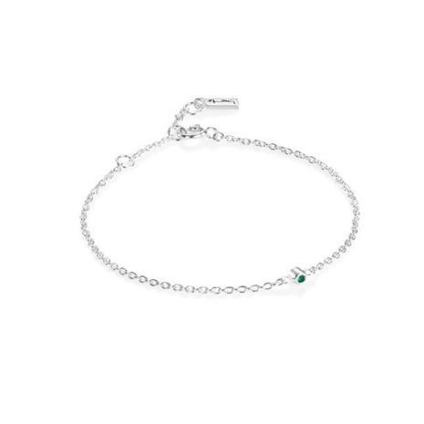 Efva Attling Micro Blink Emerald -rannekoru 14-100-01893