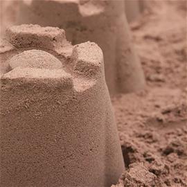 Hiekkalaatikkohiekka Siisti Piha Suursäkki 250 kg 0-4 mm