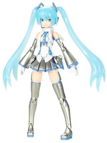 Vocaloid - Frame Arms Girl Plastic Model Kit Snow Miku - Action-figuuri - Unisex - multicolor