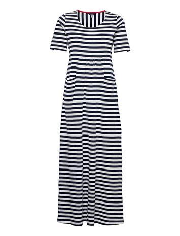 Joules Trudy Dresses T-shirt Dresses Sininen Joules NAVCRMSTP
