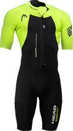 Head Swimrun Rough Shorty Suit Men, black