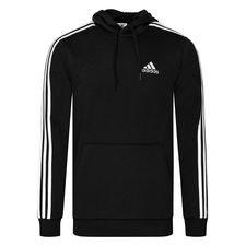 adidas Huppari Essentials 3-Stripes - Musta/Valkoinen