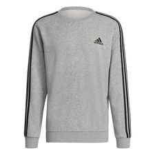 adidas Collegepaita Essentials 3-Stripes - Harmaa/Musta