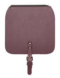 Gaston Luga CläSsy Mini Flap Top Bags Card Holders & Wallets Wallets Vaaleanpunainen Gaston Luga BURGUNDY