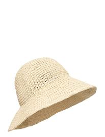 Carin Wester Slouchy Hat Accessories Headwear Straw Hats Beige Carin Wester NATUR