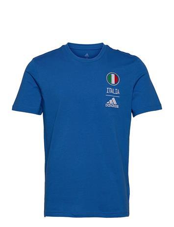 adidas Performance Italy T-Shirt T-shirts Short-sleeved Sininen Adidas Performance BROYAL