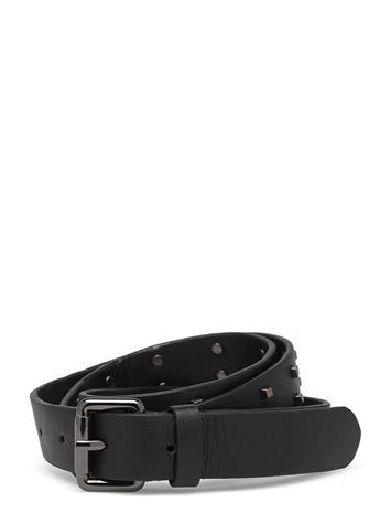DAY et Day Stud Leather Belt Vyö Musta DAY Et BLACK