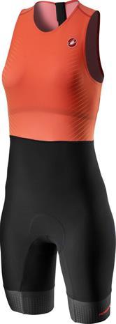 Castelli SD Team Race Suit Women, oranssi/musta
